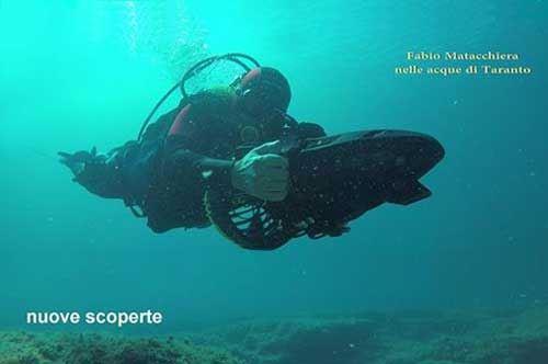 Taranto, scoperta un'ancora di 4000 anni fa: il video