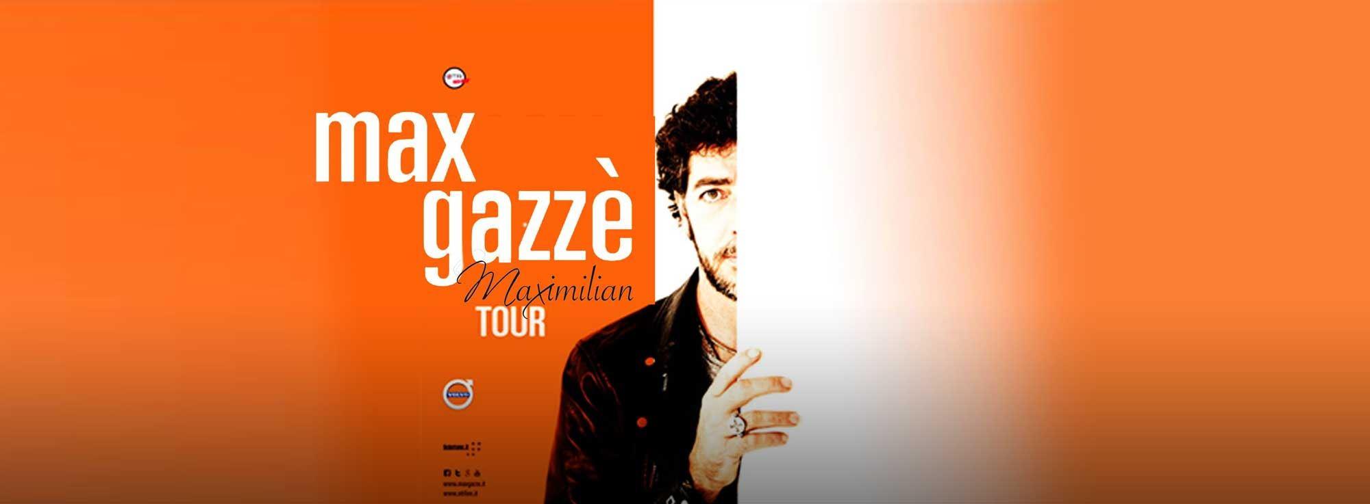 Cerignola: Max Gazzè in concerto - Maximilian Tour