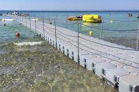 Maldive del Salento, ecco il pontile più lungo del Sud Italia