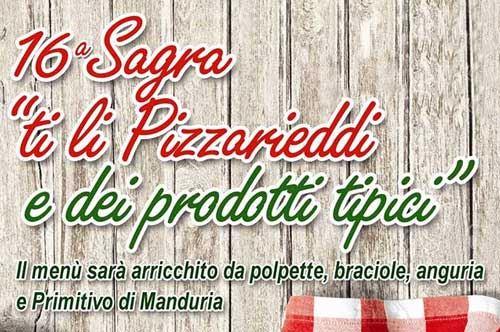 Sagra ti li Pizzarieddi e dei Prodotti Tipici