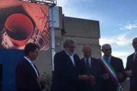 Risorse fresche per il Salento: inaugurato l'Acquedotto del Sinni