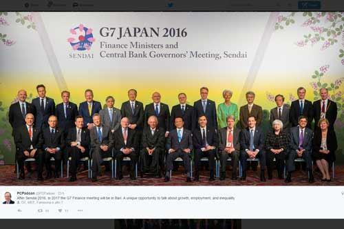 Il G7 del 2017 a Bari, l'annuncio del ministro Padoan