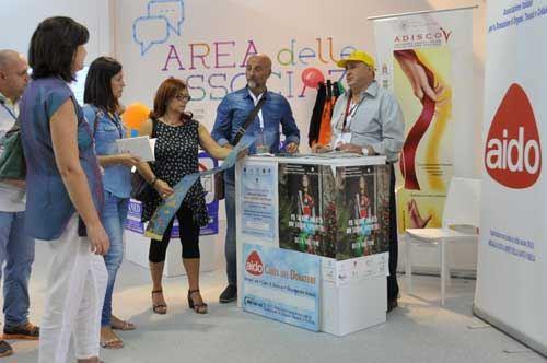 Fiera del Levante, oltre 200 donatori in più per l'Aido nel padiglione Sanità