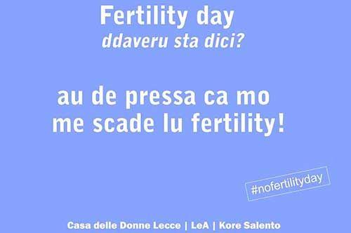 """""""Addaveru sta dici?"""" la risposta al Fertility Day arriva dal Salento"""
