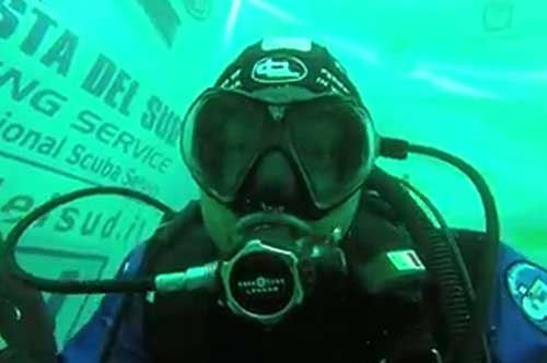 Quasi 52 ore sott'acqua: record da guinness per l'atleta disabile Paolo De Vizzi