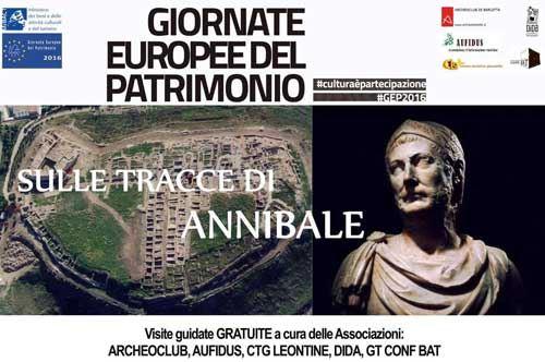 Giornate Europee del Patrimonio: sulle tracce di Annibale