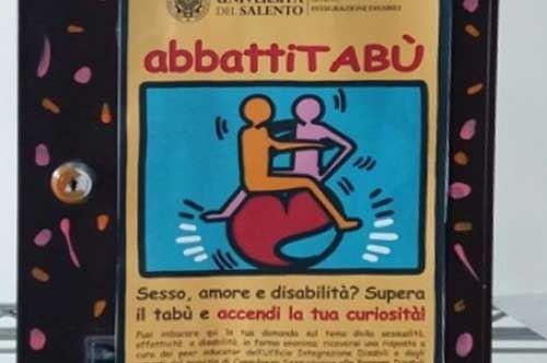 Università di Lecce, ecco le cassette postali per domande su sessualità e disabilità