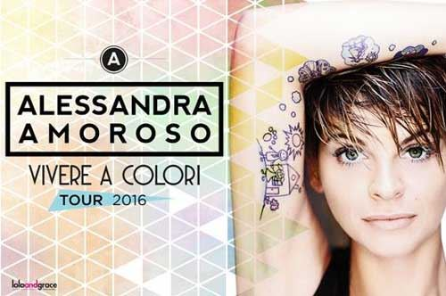 Alessandra Amoroso, Vivere a Colori Tour
