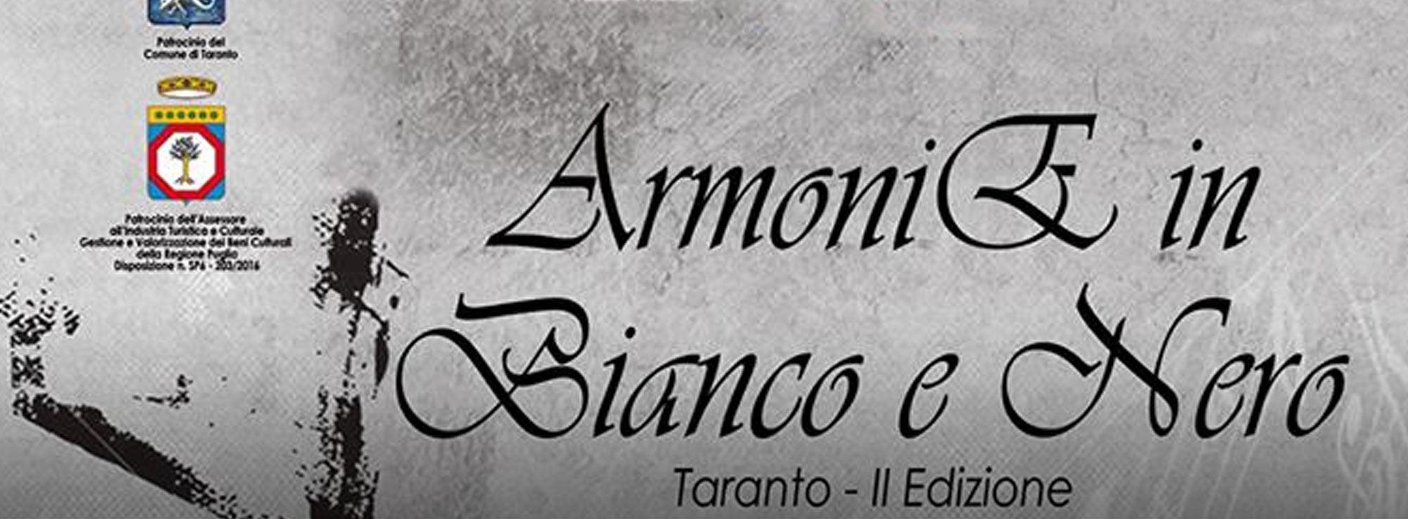 Taranto: Armonie in Bianco e Nero 2016