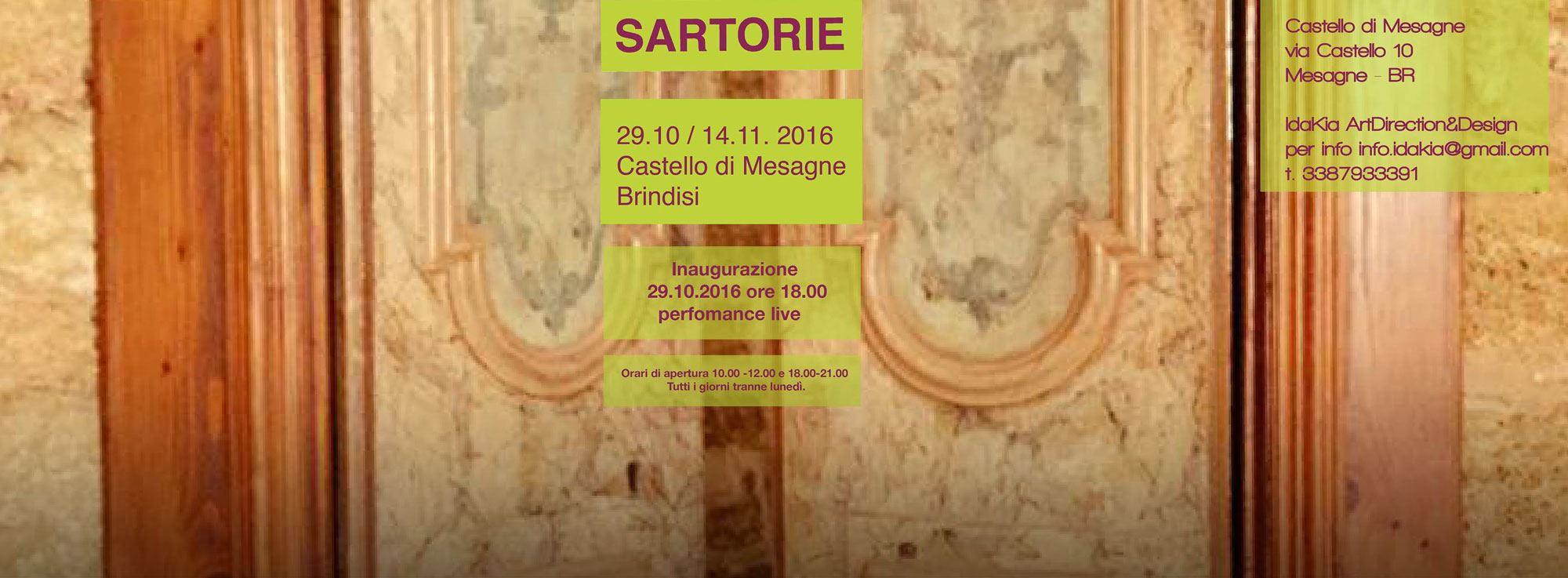 Mesagne: Paesaggi Sartoriali, mostra al Castello