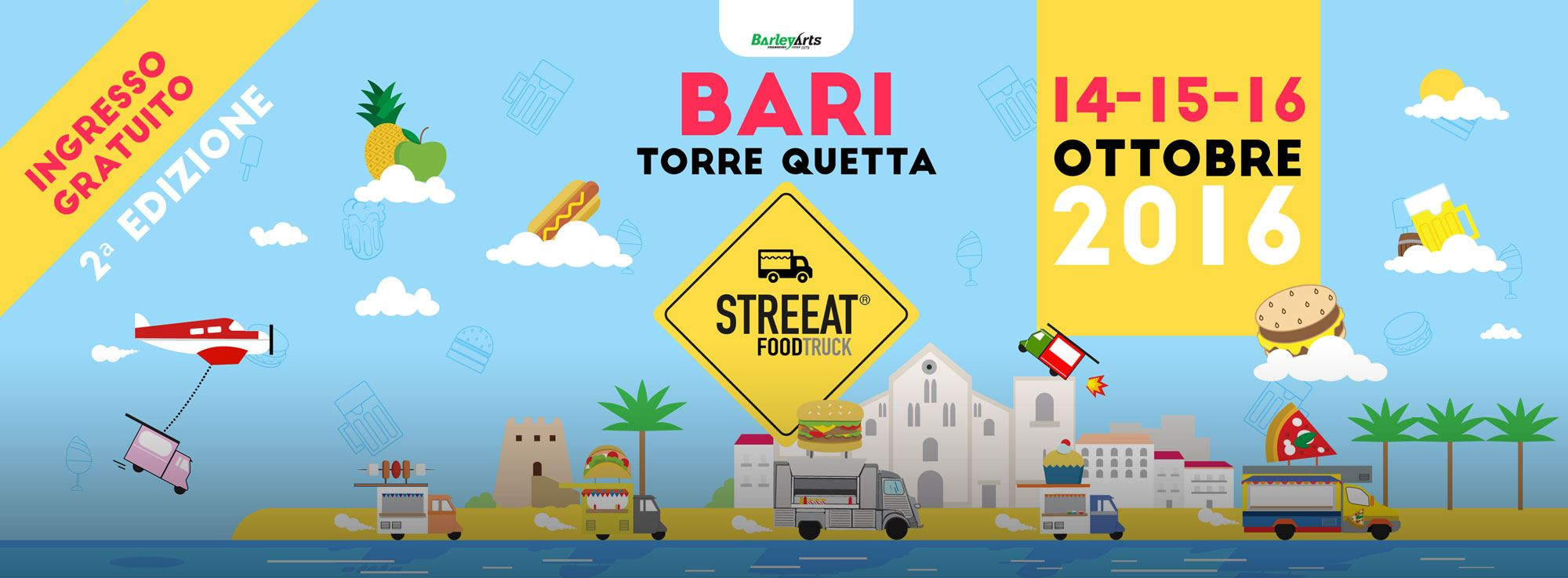 Torre Quetta: StreEAT, European Food Truck Festiva