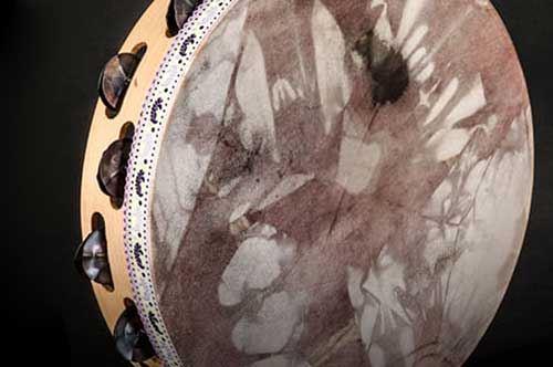 Tamburi a cornice in mostra