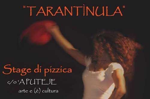 Tarantìnula, stage di danze popolari