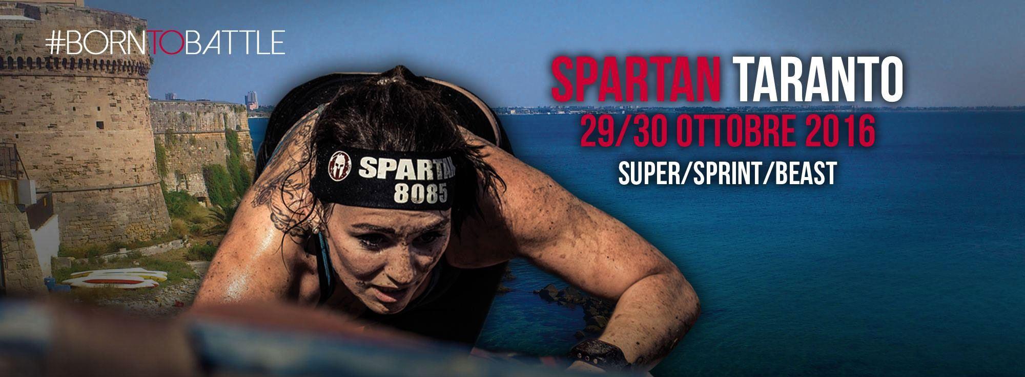 Taranto: Spartan Race, gare e atleti internazionali