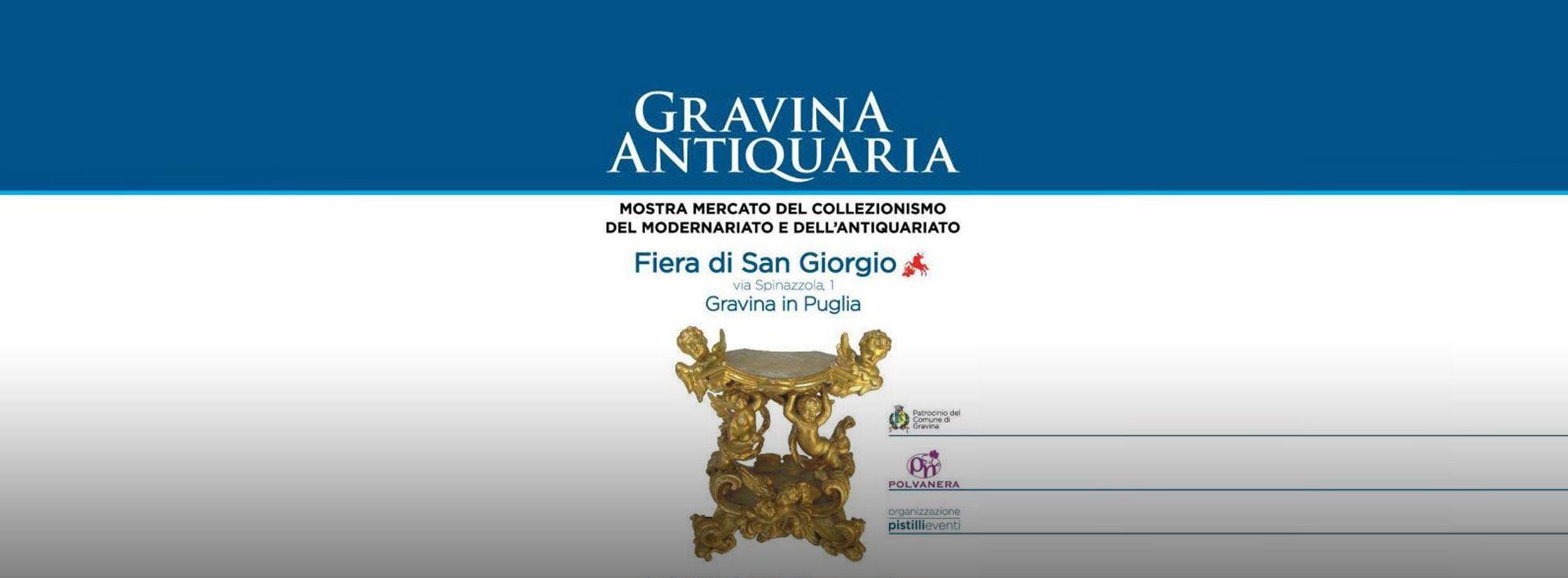 Gravina in Puglia: Gravina Antiquaria 2016