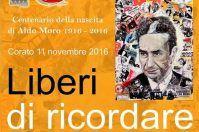 Annullo filatelico e decoupage, Corato ricorda Aldo Moro