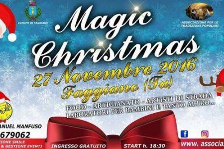 Magic Christmas 2016, mercatino di Natale