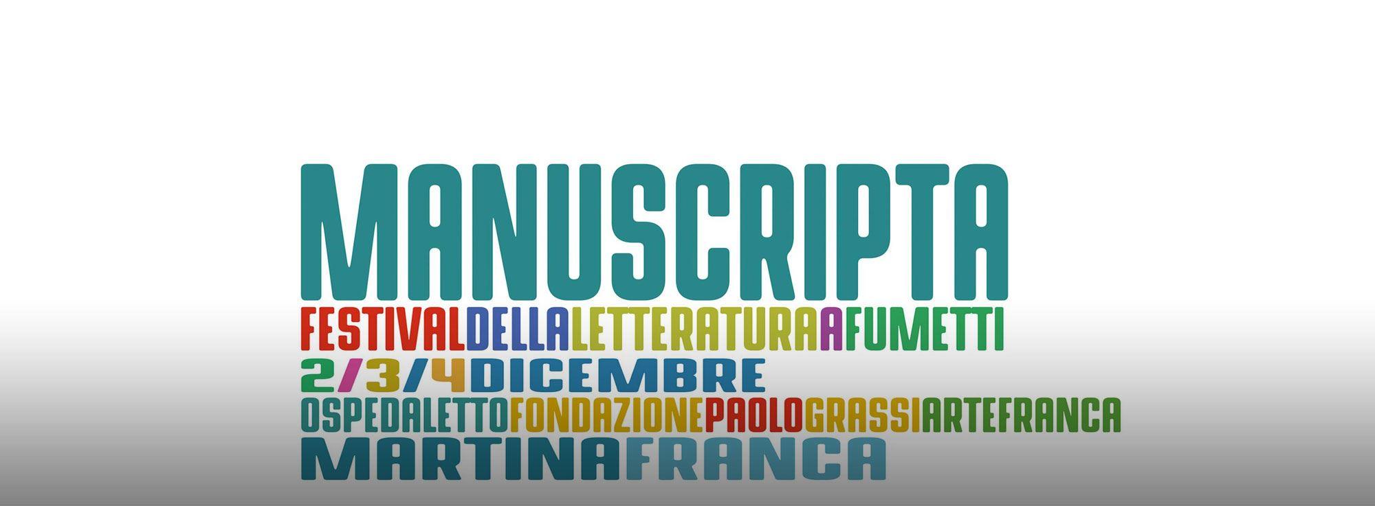 Martina Franca: Manuscripta, Festival della letteratura a fumetti