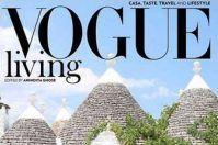 La Puglia conquista l'India: Alberobello sulla copertina di Vogue Living