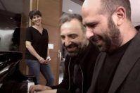 Zalone e Bollani, la cena è a suon di musica: riprese di Alessandro Piva