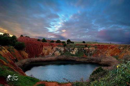 Otranto, l'alba al Bosco delle Orte è un quadro