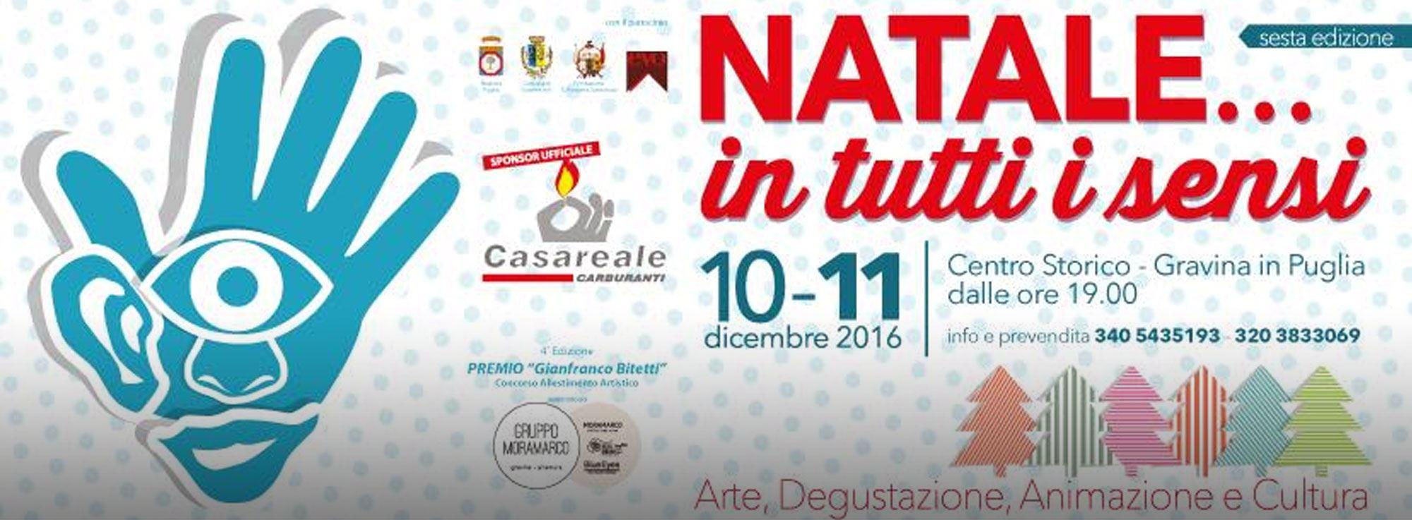 Gravina di Puglia: Natale in Tutti i Sensi