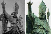 Statua di Sant'Oronzo a Lecce: che fine hanno fatto i fiori?