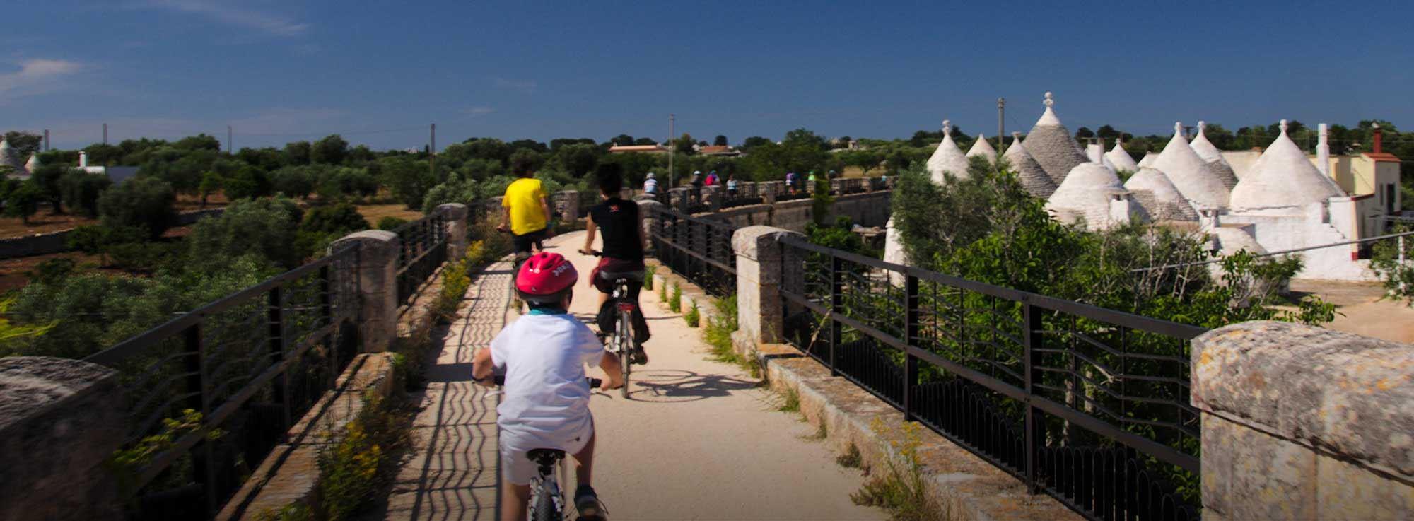 Valle d'Itria: Cicloescursione nella Valle d'Itria, in bicicletta sulle Vie dell'Acqua
