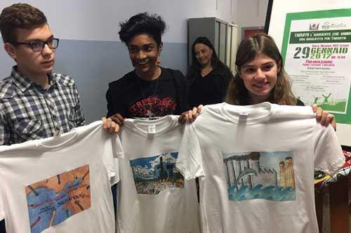 """""""Una maglietta per Taranto"""", i sogni dei giovanissimi su una T-shirt"""