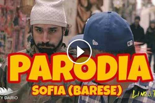 """""""Sofia"""", ecco la parodia barese firmata da Lino & Tiz"""