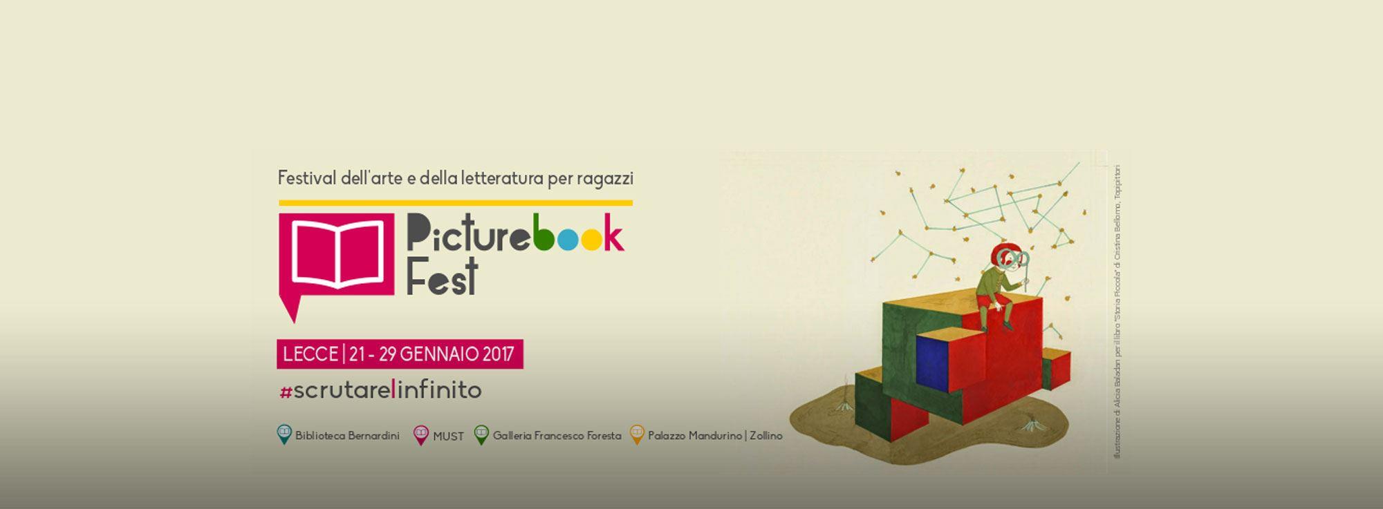 Lecce: PICTUREBOOK, festival di arte e letteratura per ragazzi