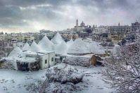 Tanta neve nella calza dell'Epifania pugliese: arriva il grande gelo