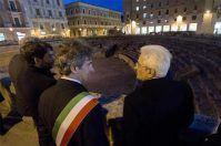 Mattarella inaugura il teatro Apollo a Lecce