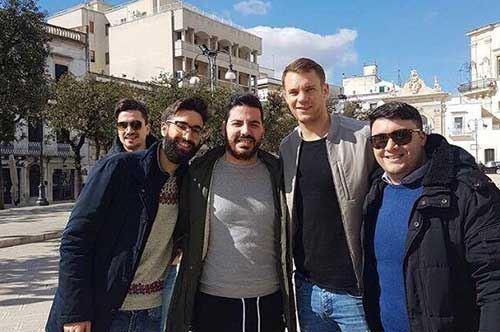 Martina Franca, c'è Neuer nei panni di turista