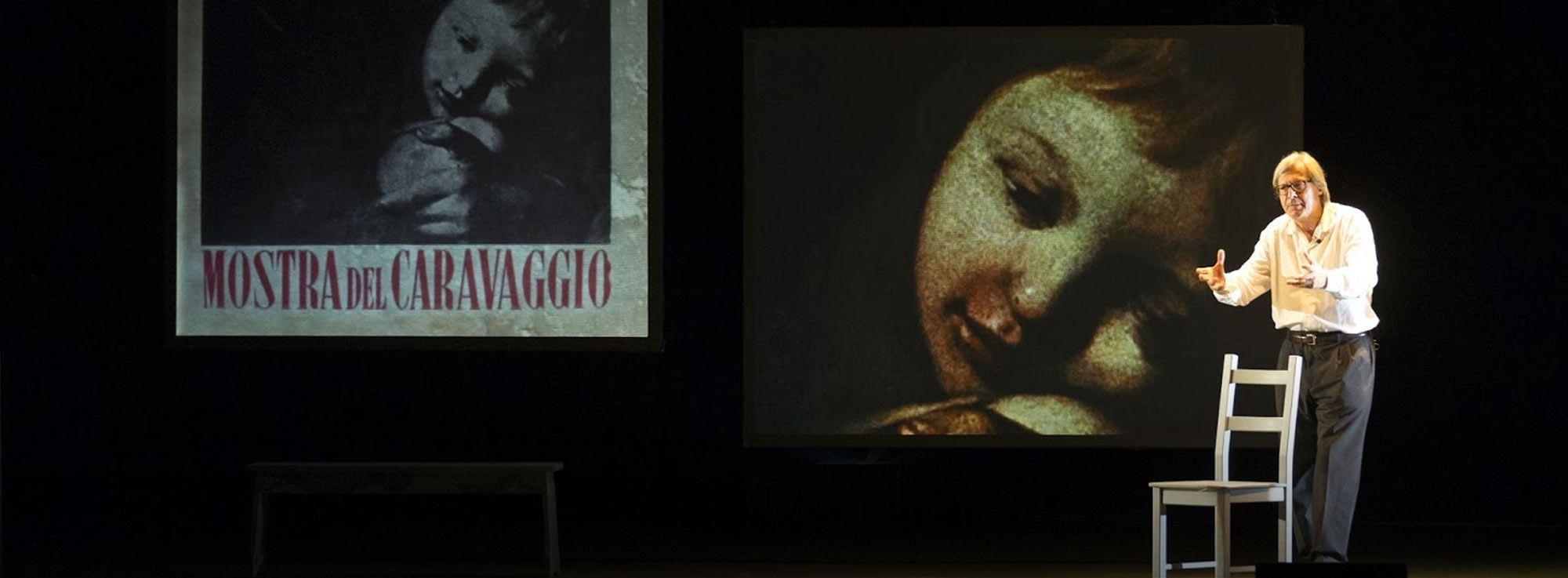 Bari: Caravaggio di Vittorio Sgarbi