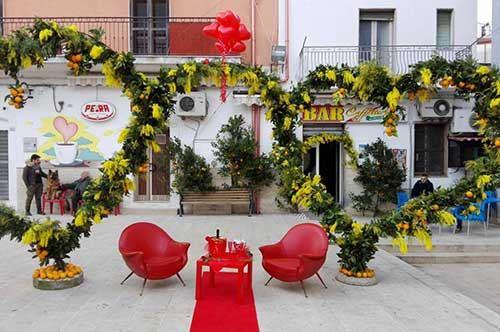 """Vico del Gargano, un San Valentino """"bio"""" per le piazze"""