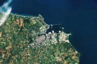 Sentinel 2B sceglie Brindisi per la prima foto dallo spazio