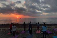 108 saluti al sole per la prima alba di Primavera