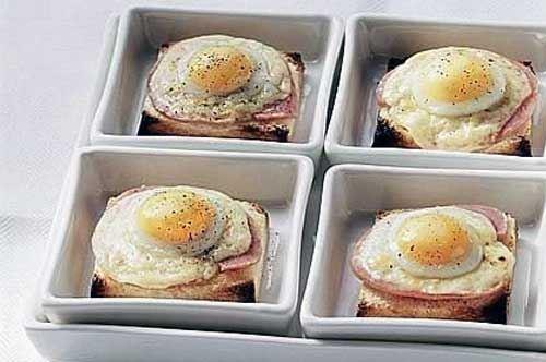 Crostoni alle uova stuzzicanti
