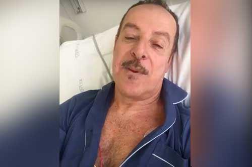 """Massimo Lopez, paura allontanata: i saluti dal """"Bonomo"""" di Andria"""