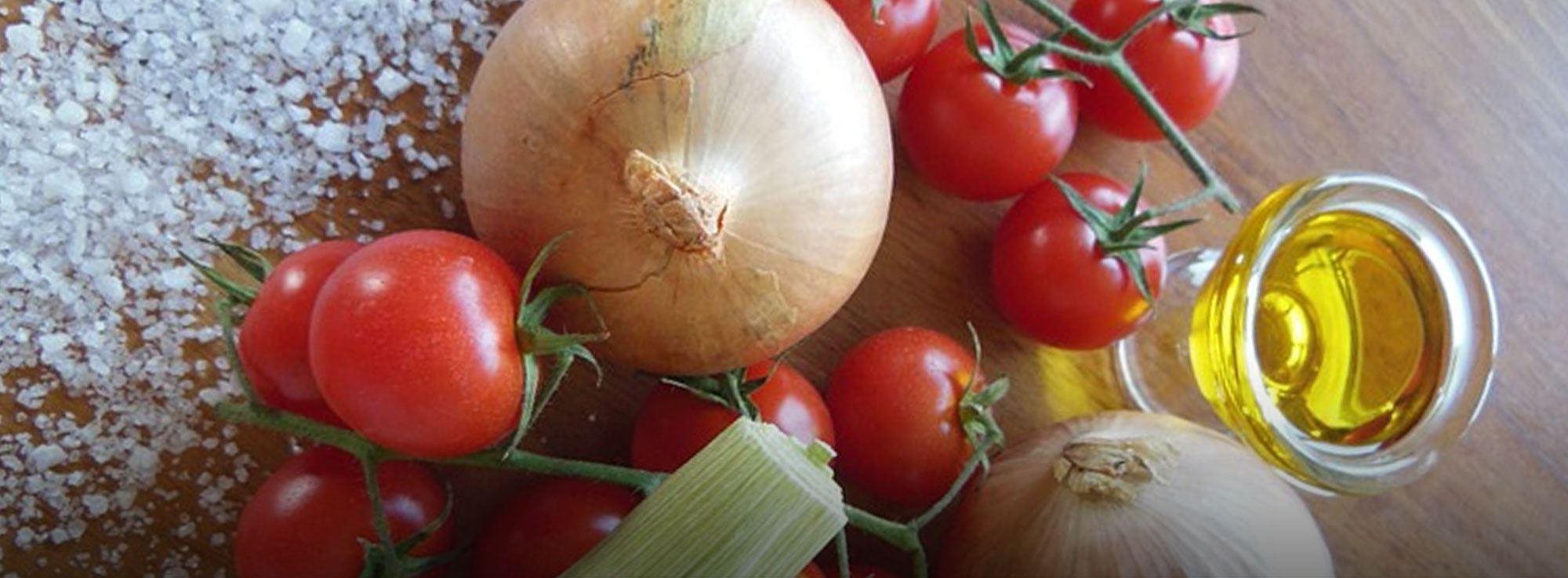 Ricetta: Torta di pane, pomodori e cipolle