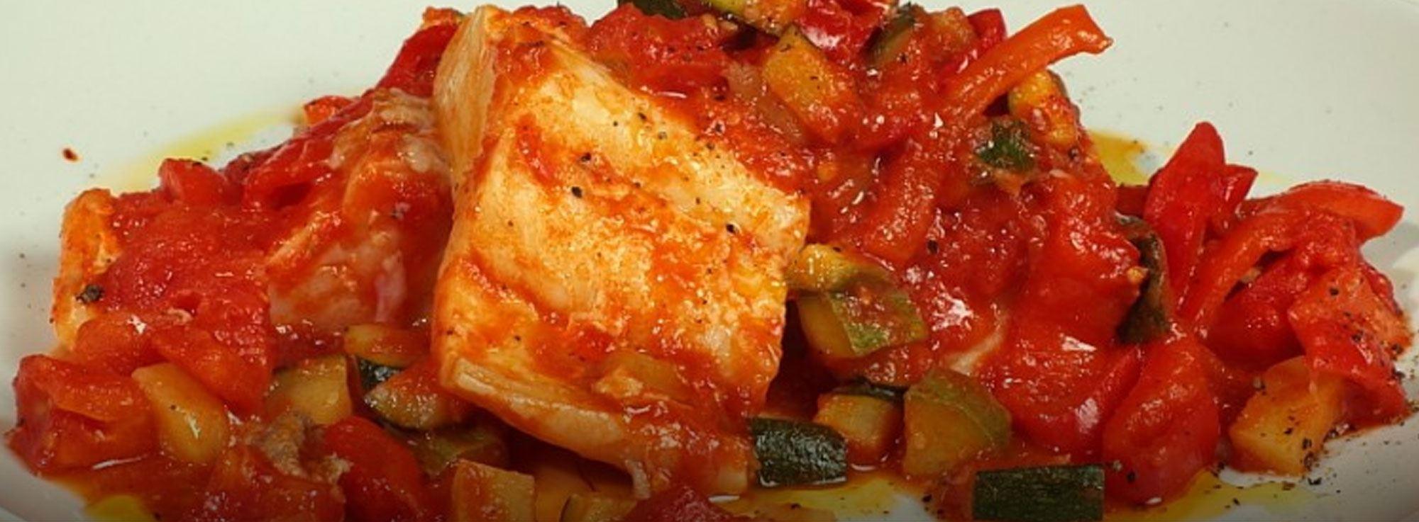 Ricetta: Stoccafisso con verdure al forno