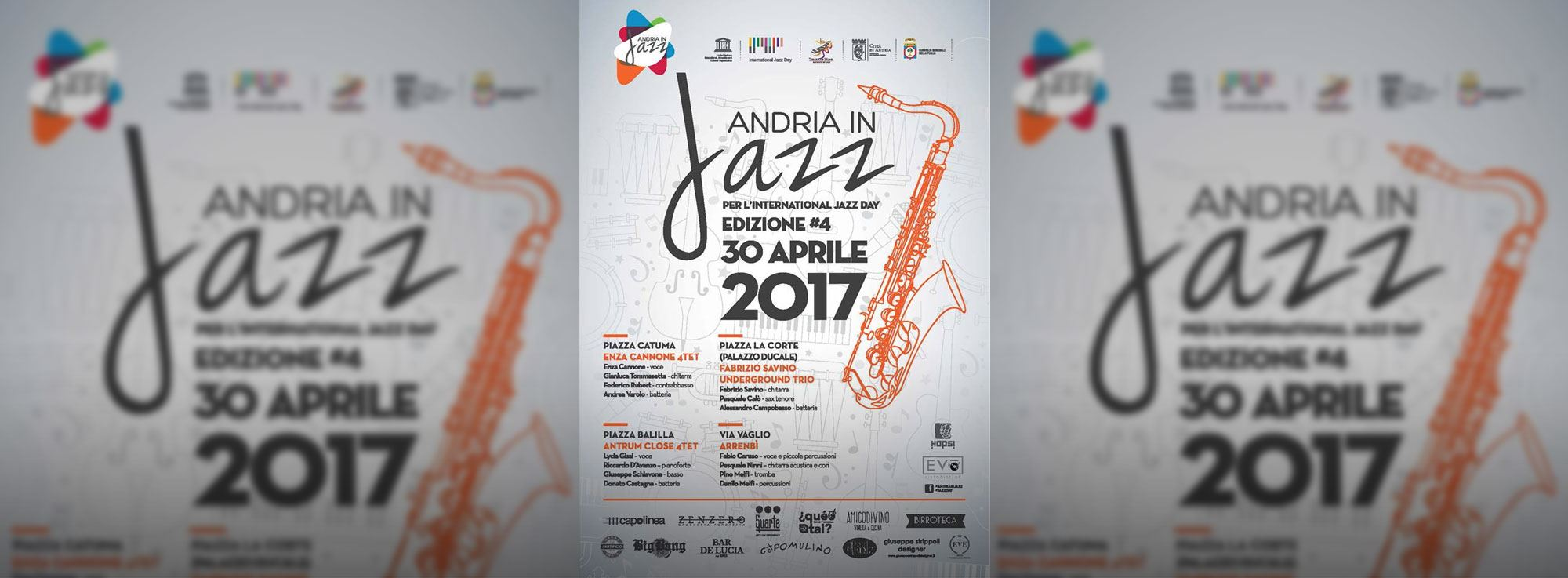 Andria: Andria in jazz 2017
