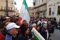 Manduria, vittoria dei manifestanti: nessuno scarico a mare per il depuratore