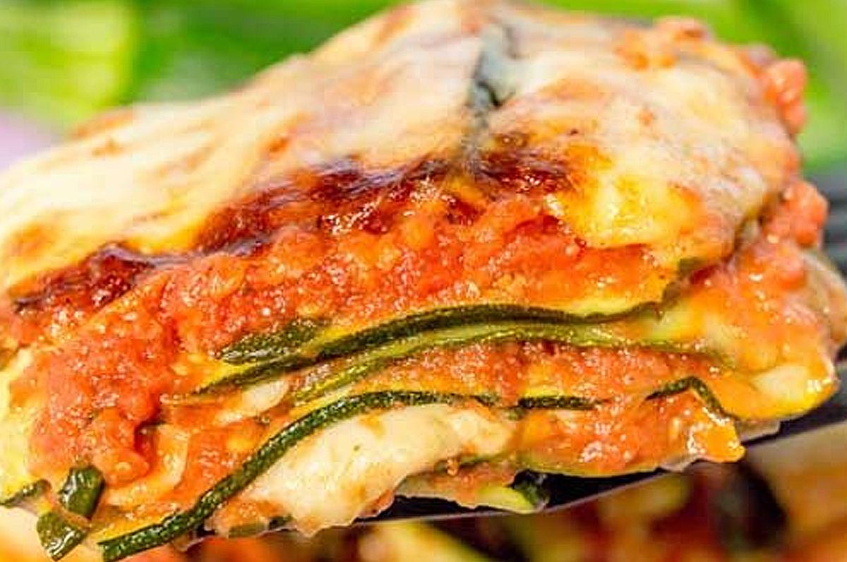 Parmigiana di zucchine delicata