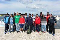 A pesca di immondizia, Porto Cesareo a difesa del mare pulito