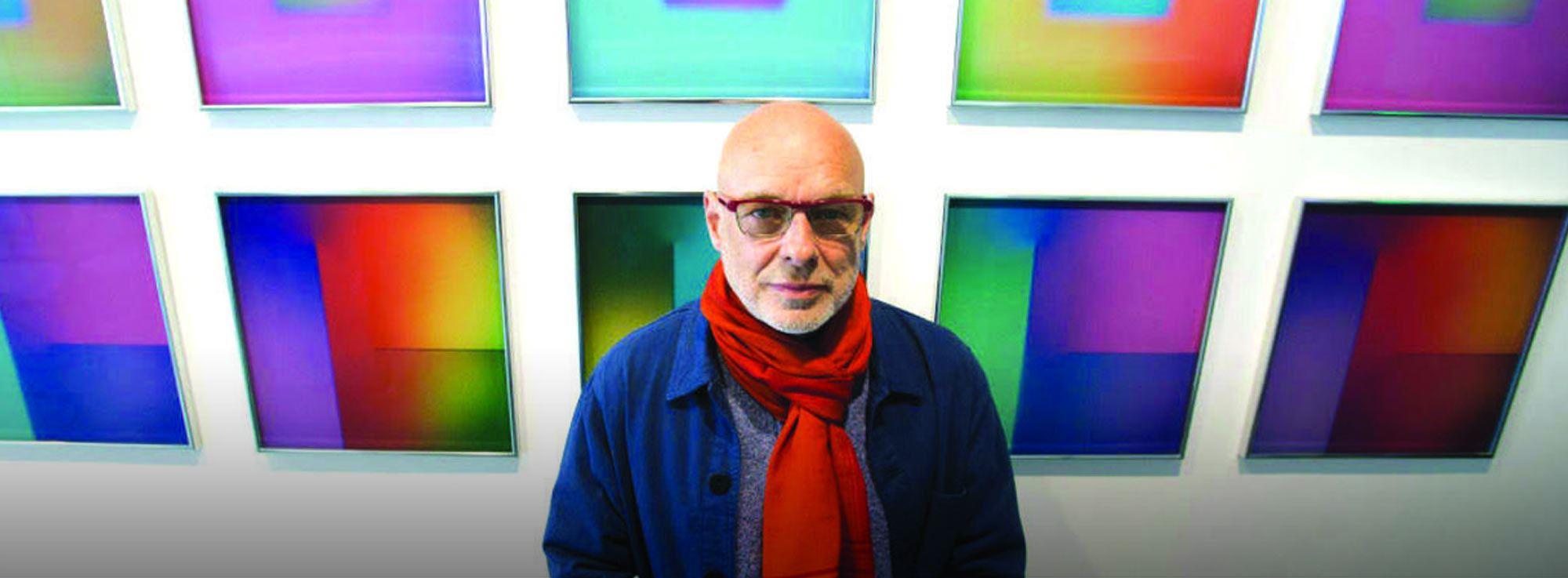 Trani: Mostra Light music - ospite Brian Eno