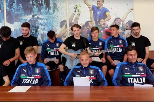 """""""Antonio Di Natale"""", il successo dei Tonelli Diversi per l'Under 20 dell'Italia"""