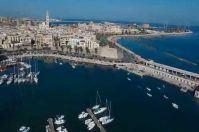 """Bari vista dal drone, lo spettacolo """"offerto"""" dalla Polizia di Stato"""