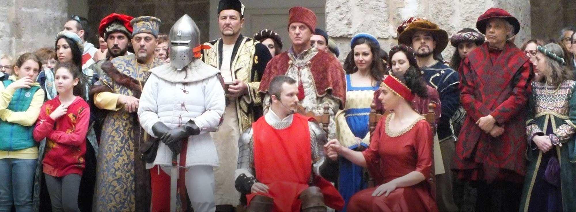 Taranto: Rievocazione storica del Matrimonio di Maria d'Enghien
